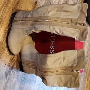 Guess Tan Boots